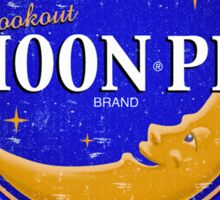 Moon Pie...What a time to be alive. Sticker