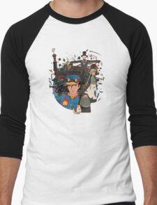 Castle! Men's Baseball ¾ T-Shirt