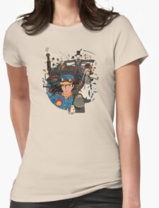 Castle! Womens Fitted T-Shirt