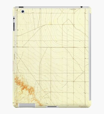 USGS TOPO Map California CA Levis 296244 1923 31680 geo iPad Case/Skin