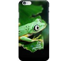 He had his eye on me...or was it a grasshopper? iPhone Case/Skin