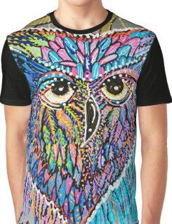 Owl Power Graphic T-Shirt