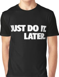 Just do it Nike Graphic T-Shirt