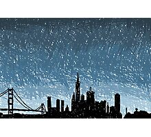SF Scribble Photographic Print