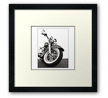 """Harley-Davidson Deluxe"" Framed Print"
