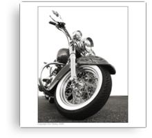 """Harley-Davidson Deluxe"" Canvas Print"