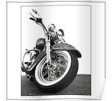 """Harley-Davidson Deluxe"" Poster"