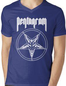 Pentagram- Relentless (for black shirts) Mens V-Neck T-Shirt