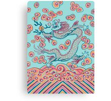 Chinese Dragon (red/green) Canvas Print