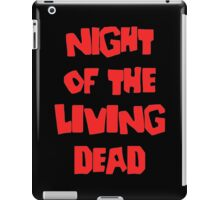 Night of the Living Dead iPad Case/Skin