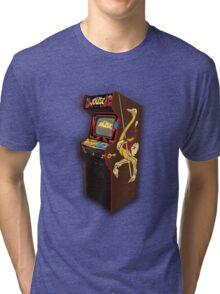 Copper Key Joust Arcade Tri-blend T-Shirt