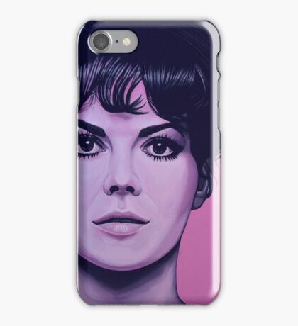 Natalie Wood Painting iPhone Case/Skin