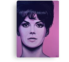 Natalie Wood Painting Canvas Print