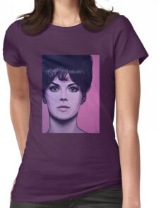 Natalie Wood Painting Womens Fitted T-Shirt