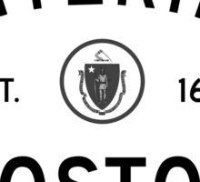 Entering Boston Sticker