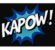 Kapow! Comic Photographic Print
