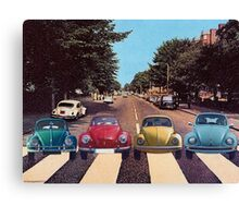 The Abbey Road Collage Canvas Print
