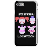 Sister Location Gang iPhone Case/Skin