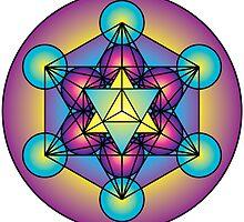 Metatron's Cube Merkaba by GalacticMantra