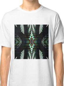 Metallic Shapes and Patterns Classic T-Shirt