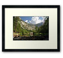 Mirror Lake at Yosemite Framed Print