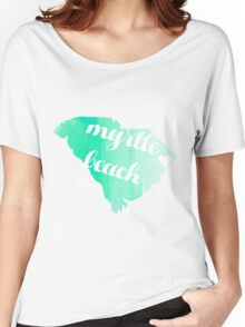 Myrtle Beach Women's Relaxed Fit T-Shirt