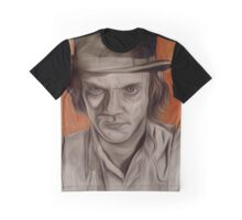 Malcolm McDowell in A Clockwork Orange Graphic T-Shirt
