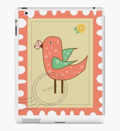 Bird stamp iPad Case/Skin