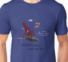 20,000 Leagues Under the Sea Remastered Unisex T-Shirt