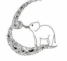 E is for Elephant by Cat-Igrun