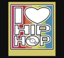 I LOVE HIP-HOP POLAROID Kids Tee