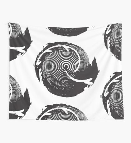 The Twilight Zone : BW // DJ Wall Tapestry