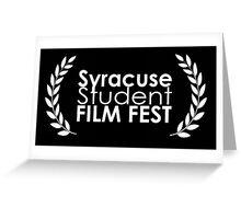 Syracuse Student Film Fest Greeting Card
