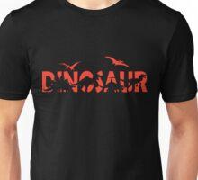 Dinosaur red Unisex T-Shirt