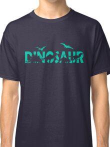 Dinosaur aqua Classic T-Shirt