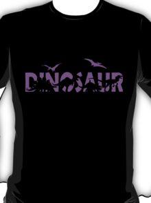Dinosaur purple T-Shirt