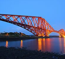 The Forth Bridge from North Queensferry by Jonathan Cox