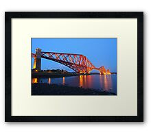 The Forth Bridge from North Queensferry Framed Print