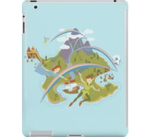 Off to Neverland!  iPad Case/Skin