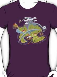 Off to Neverland!  T-Shirt
