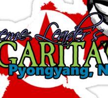 Margaritaville: Pyongyang, North Korea Sticker