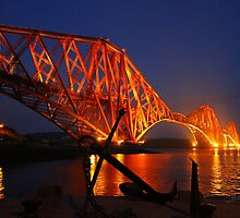 The Forth (Rail) Bridge from North Queensferry by Jonathan Cox