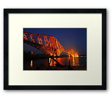 The Forth (Rail) Bridge from North Queensferry Framed Print