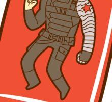 Winter Soldier Ice Pop Sticker