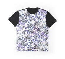 Painted Floral Graphic T-Shirt