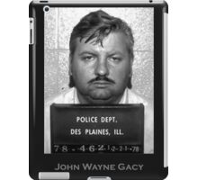 John Wayne Gacy Serial Killer Mugshot iPad Case/Skin