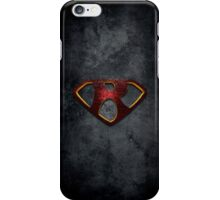 """The Letter R in the Style of """"Man of Steel"""" iPhone Case/Skin"""