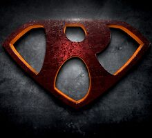 "The Letter R in the Style of ""Man of Steel"" by BigRockDJ"
