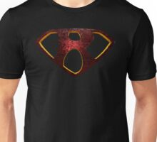 "The Letter R in the Style of ""Man of Steel"" Unisex T-Shirt"