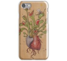 Dionaea Heart (Venus Flytrap) iPhone Case/Skin